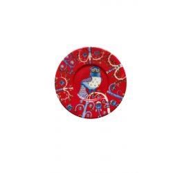 IITTALA TAIKA cappuccino csészealj 15 cm, vörös