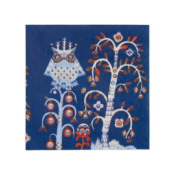 IITTALA TAIKA papír szalvéta 33x33 cm, kék