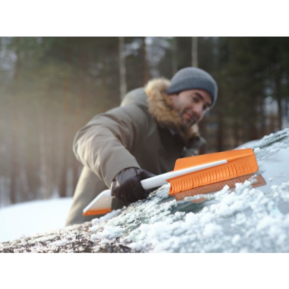FISKARS SnowXpert jégkaparó & kefe