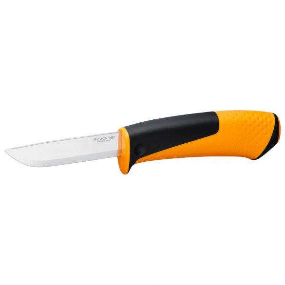 Hardware általános kés, tokba épített élezővel