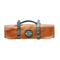 DICK Késtartó táska 5 db késnek, vagy kiegészítőnek, exkluzív bőr kivitelben
